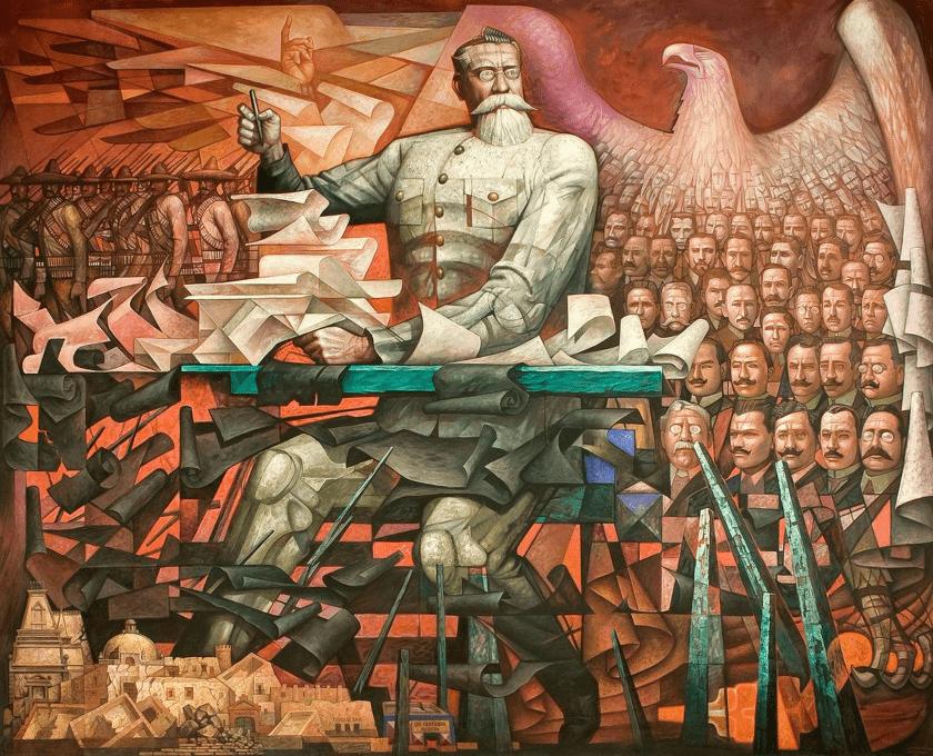Mural Constitución de 1917