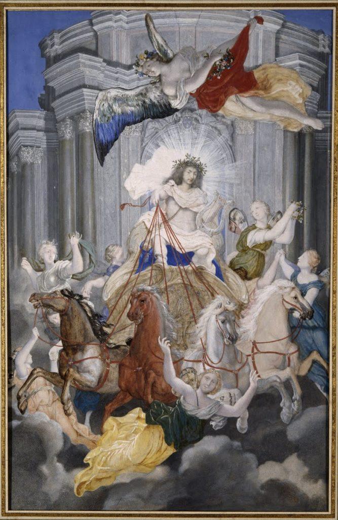 Joseph Werner, Luis XIV