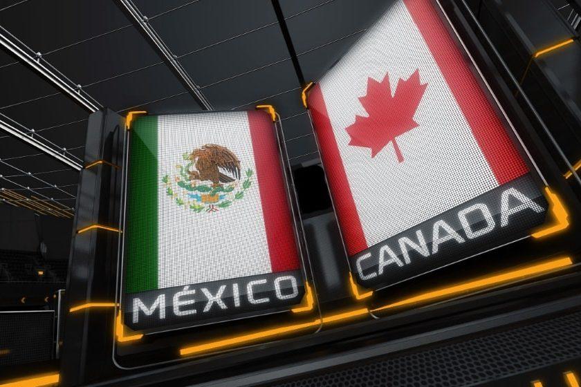 Legisladores de México y Canadá