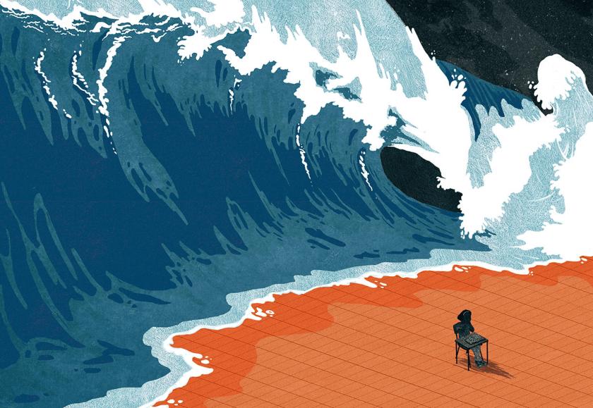 la ola de la pandemia