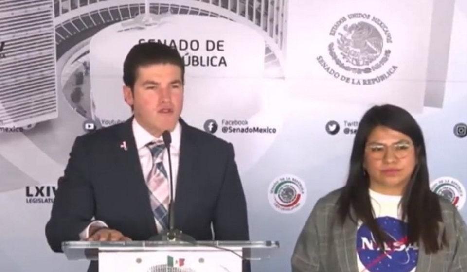 Video de senador Samuel García sobre coronavirus