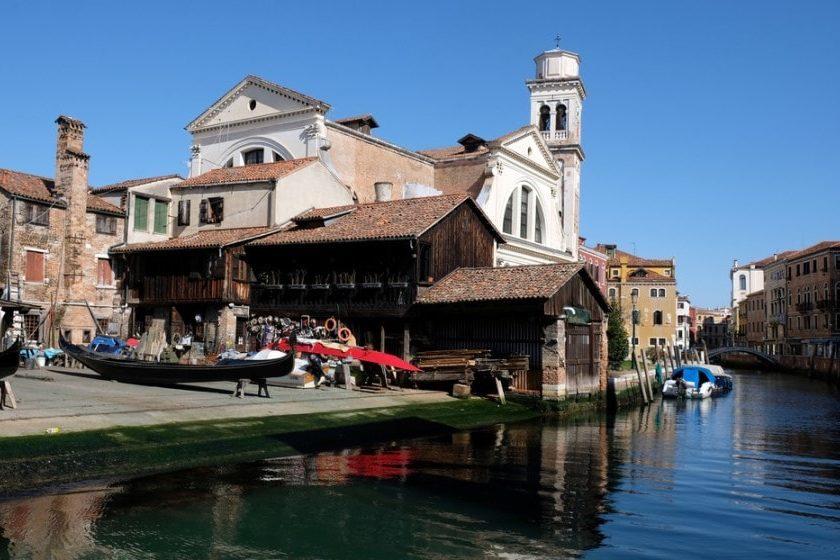 canales de Venecia durante la cuarentena