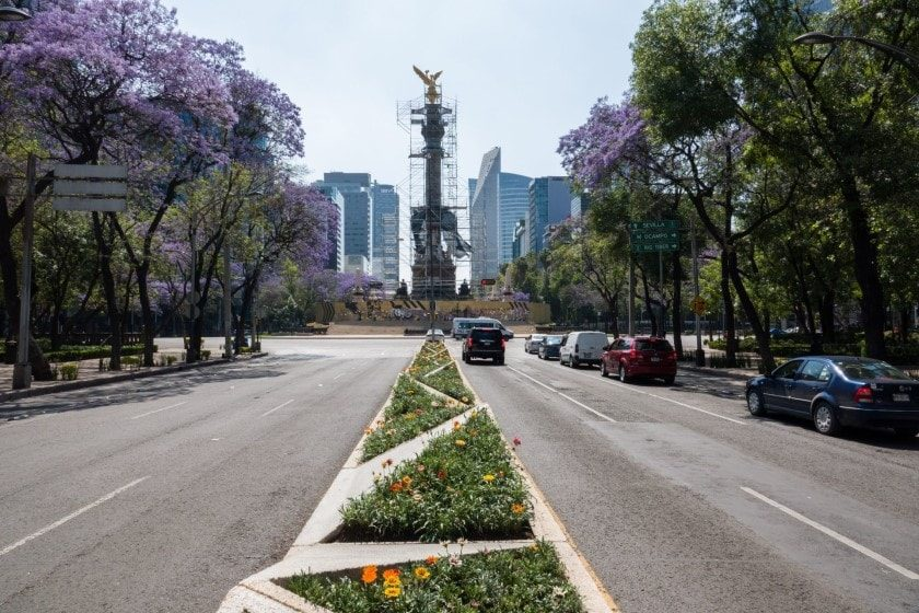 Coronavirus en México: comercios cierran en la CDMX