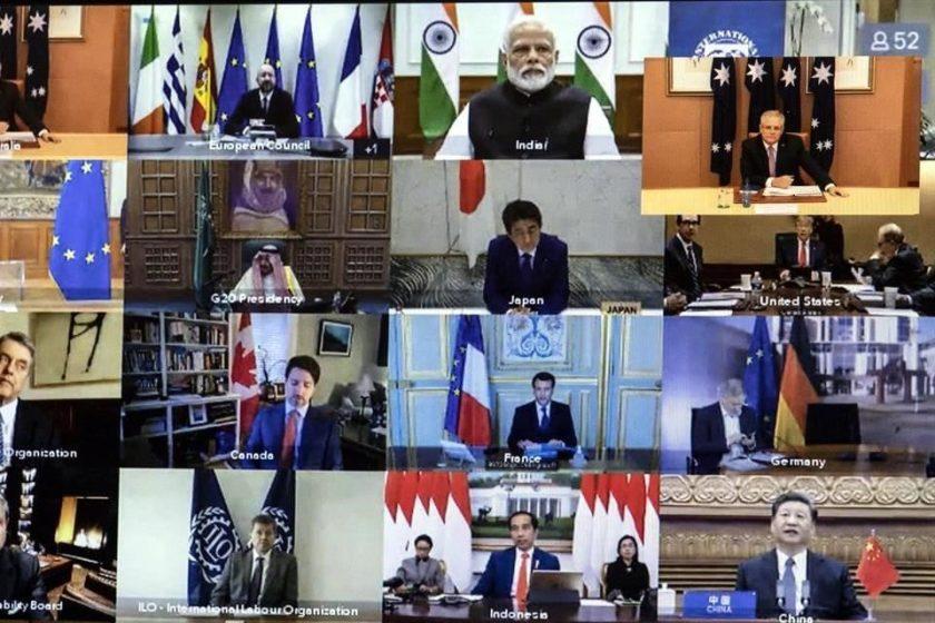 Acuerdo del G20 para combatir el coronavirus