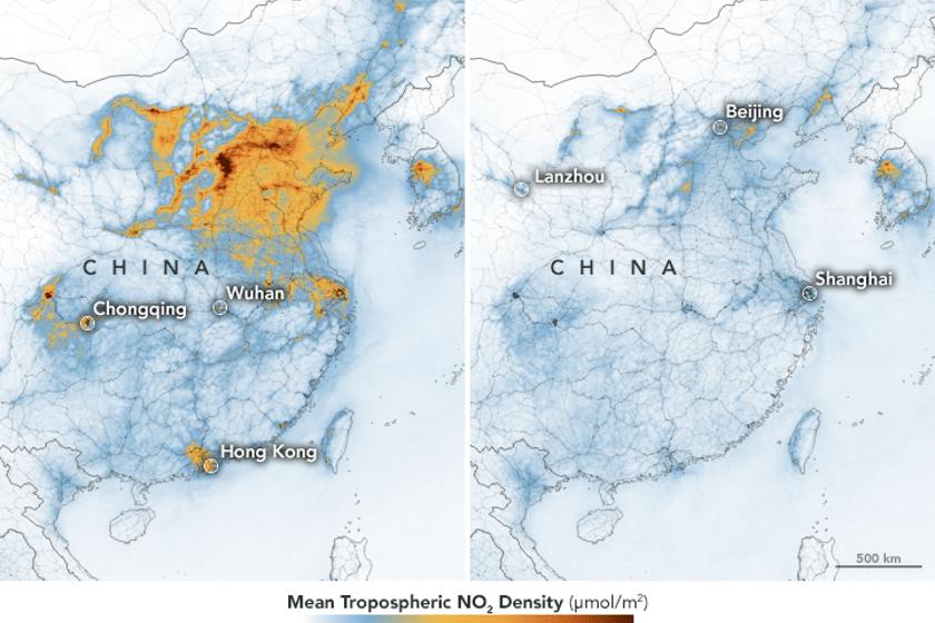 Baja contaminación en China por coronavirus