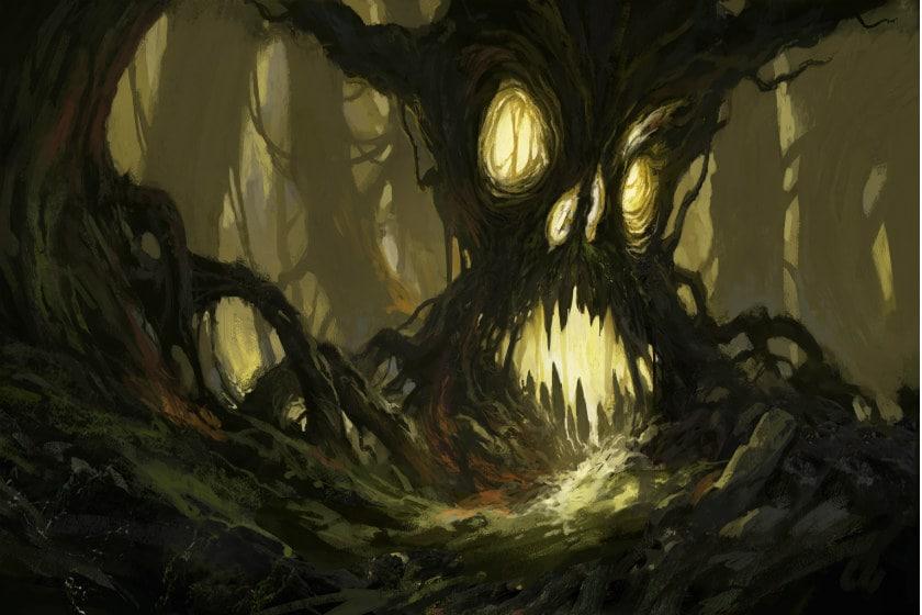 bosque siniestro