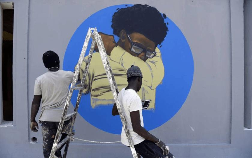 graffiti, coronavirus