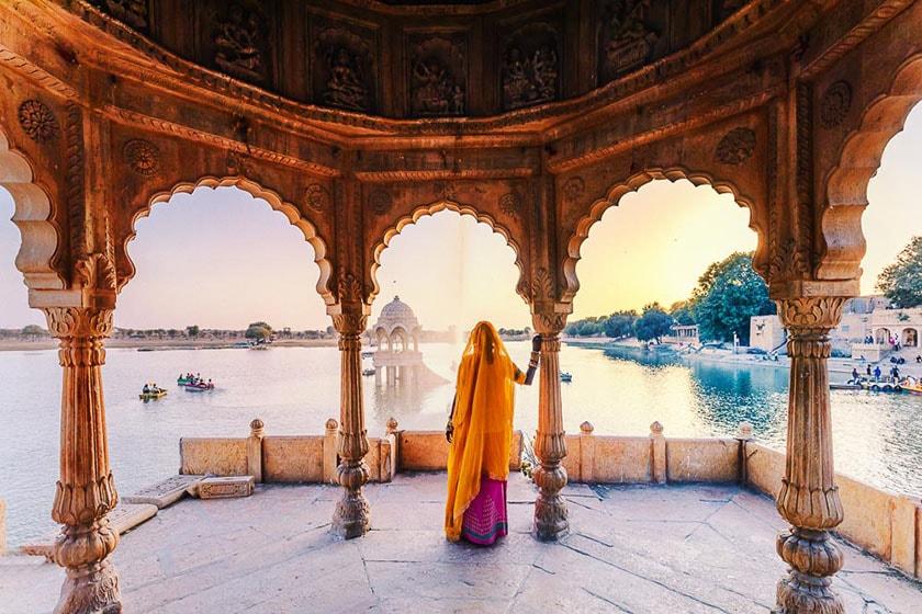 India en cinco sentidos