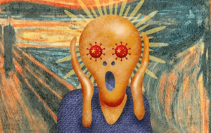 panico y miedo al coronavirus