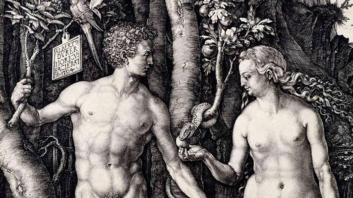primera mujer y primer hombre