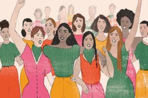movimiento de mujeres.