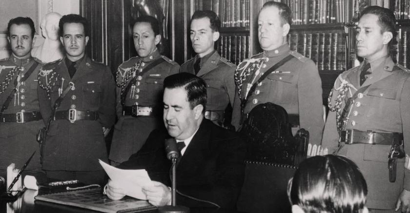 discurso de Manuel Avila Camacho para la guerra