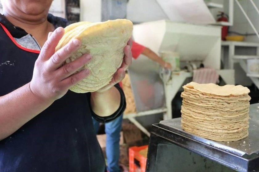 Precio de la tortilla
