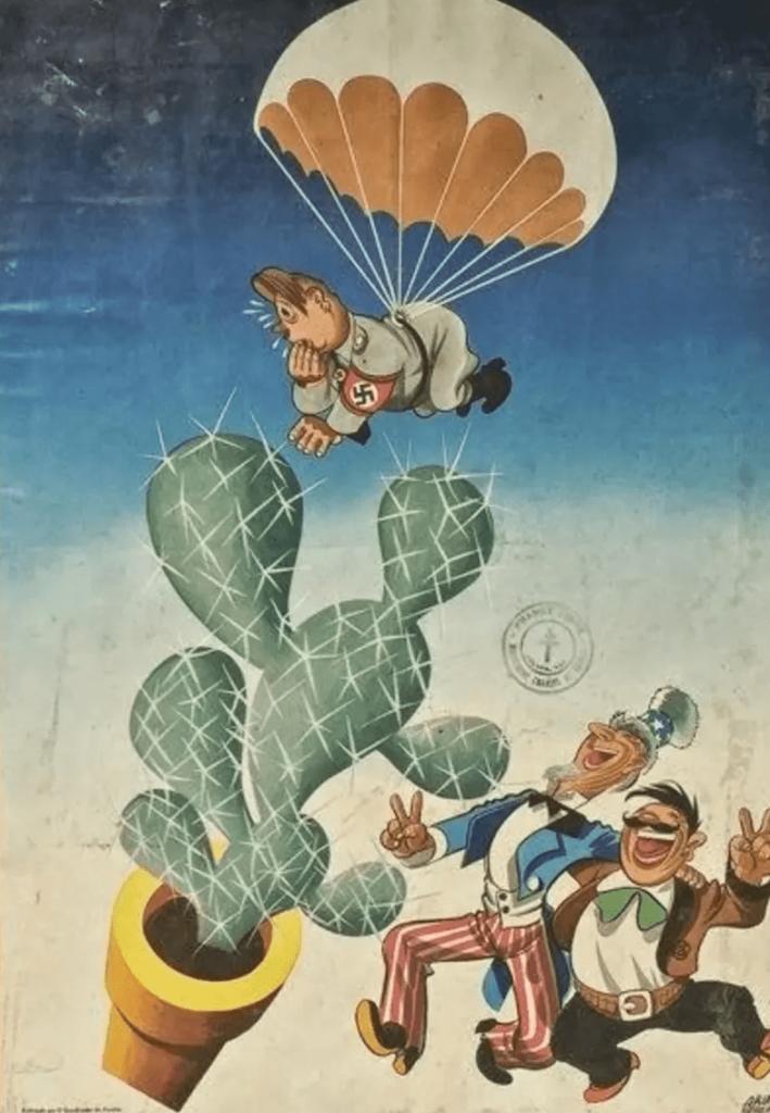 propaganda Mexico en la segunda guerra mundial