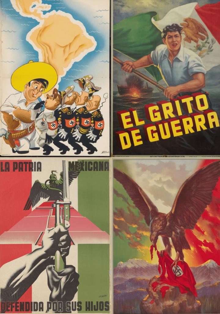 propaganda mexicana en la guerra mundial