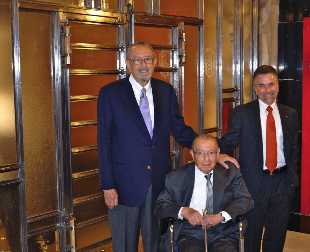 César Pelli, Arq. Pedro Ramírez Vázquez y Arq. Arturo Aispuro Coronel