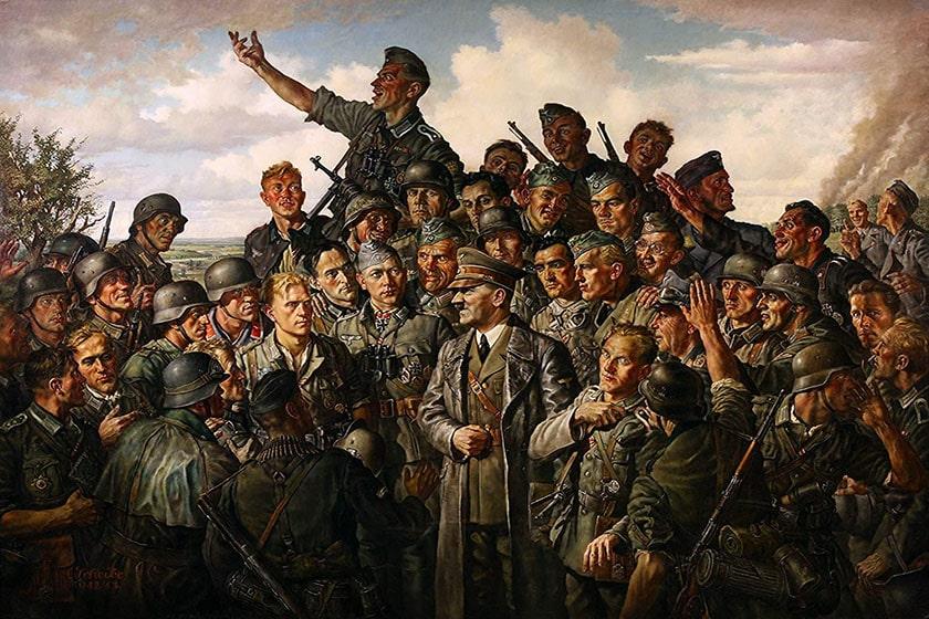 guerra alemana