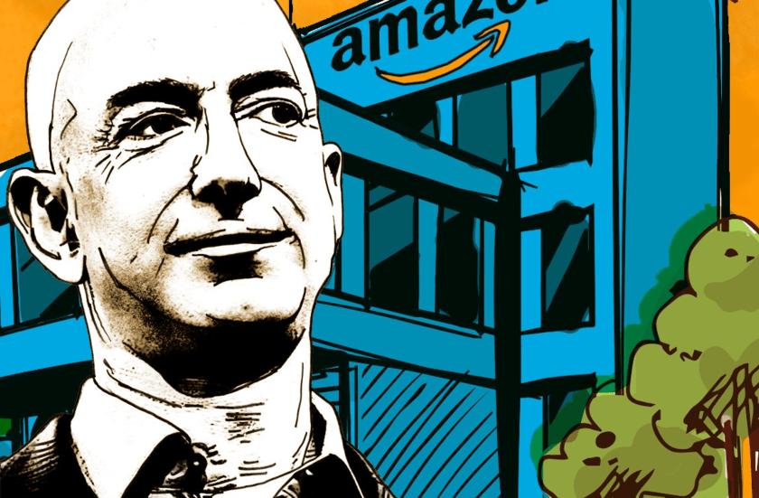 Jeff Bezos, gigantes tecnologicos
