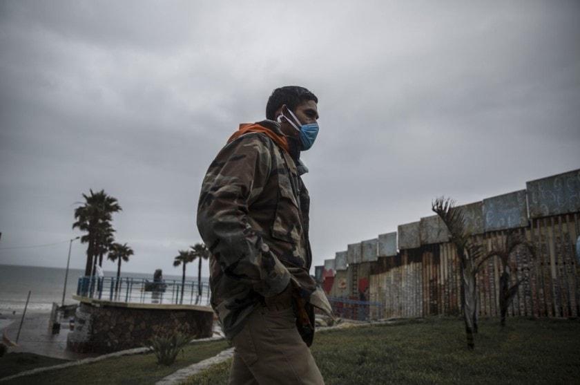 cierre de frontera entre México y Estados Unidos por coronavirus