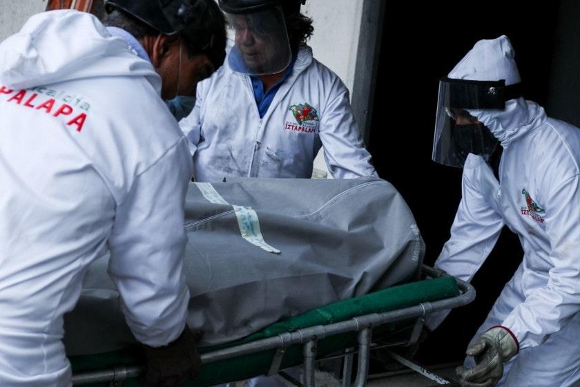 funerales de víctimas de coronavirus