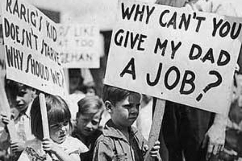Crisis económica del coronavirus será peor que la Gran Depresión