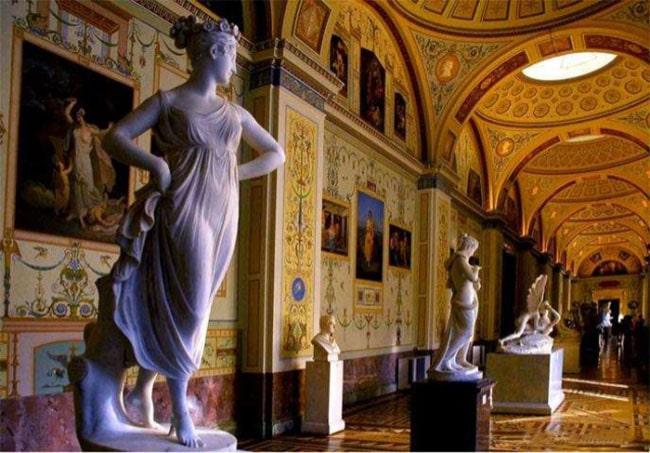 esculturas museo rusia