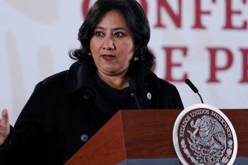 Irma Eréndira Sandoval dio positivo a COVID-19