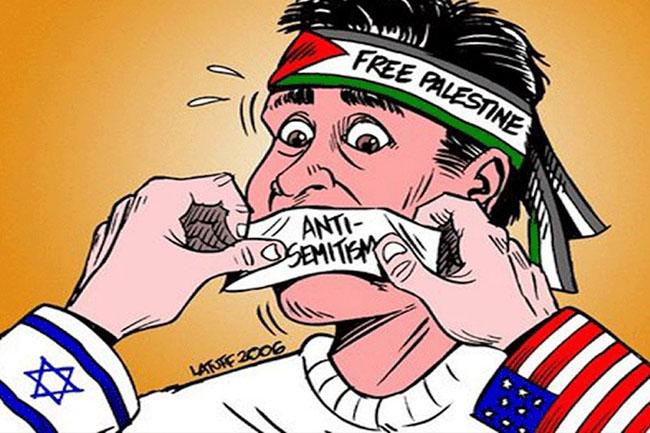 antisemitismo palestina