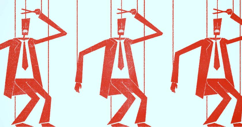 obediencia marionetas