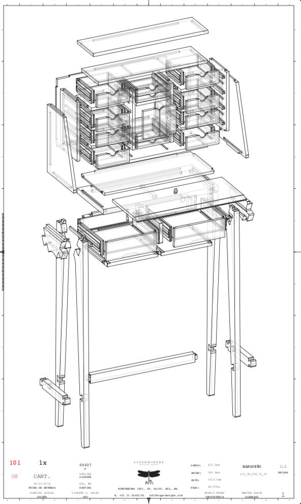 mueble de Supermorphe, Rodrigo Loaiza