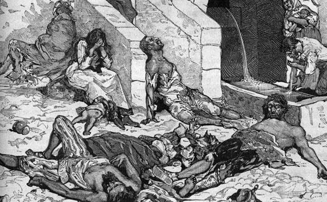 peste negras y epidemias