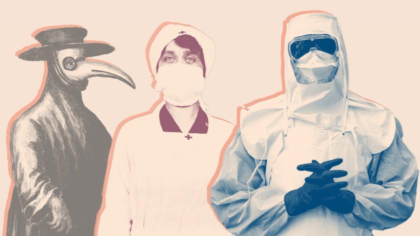 doctores en pandemias