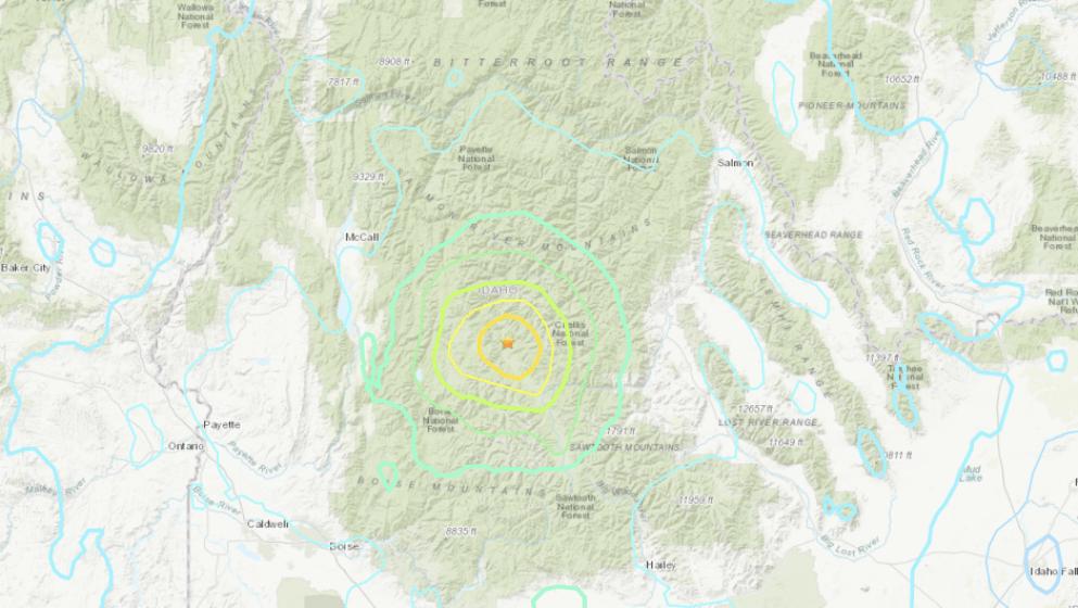Sismo en Idaho Estados Unidos no reporta daños