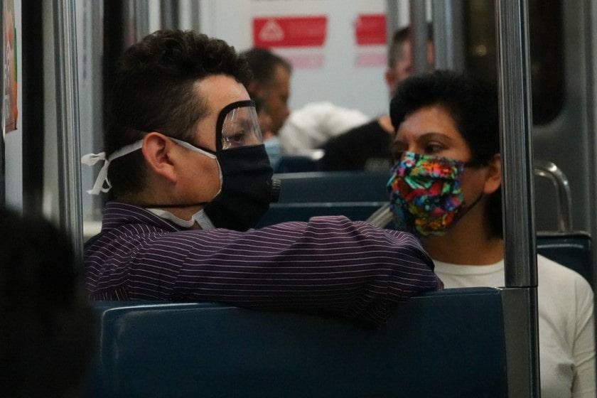 Brote de coronavirus en el metro de la CDMX