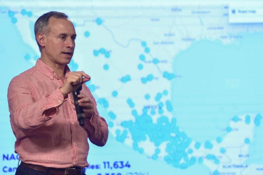 Reporte de ciudades más afectadas por coronavirus en México