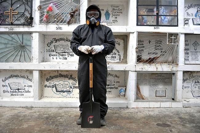 morir en tiempos de pandemia