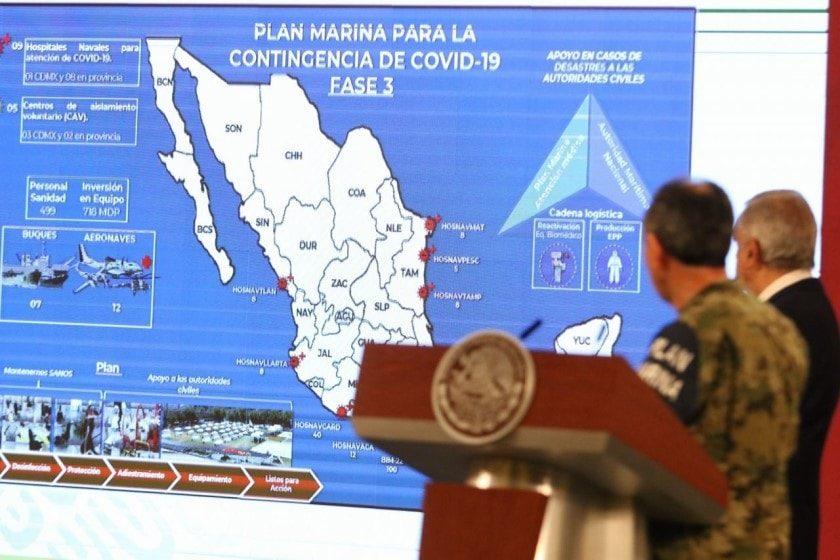 Plan DN-II en México contra el coronavirus