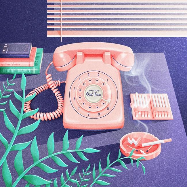 siempre esperando esa llamada