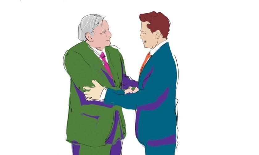 Peña Nieto y López Obrador
