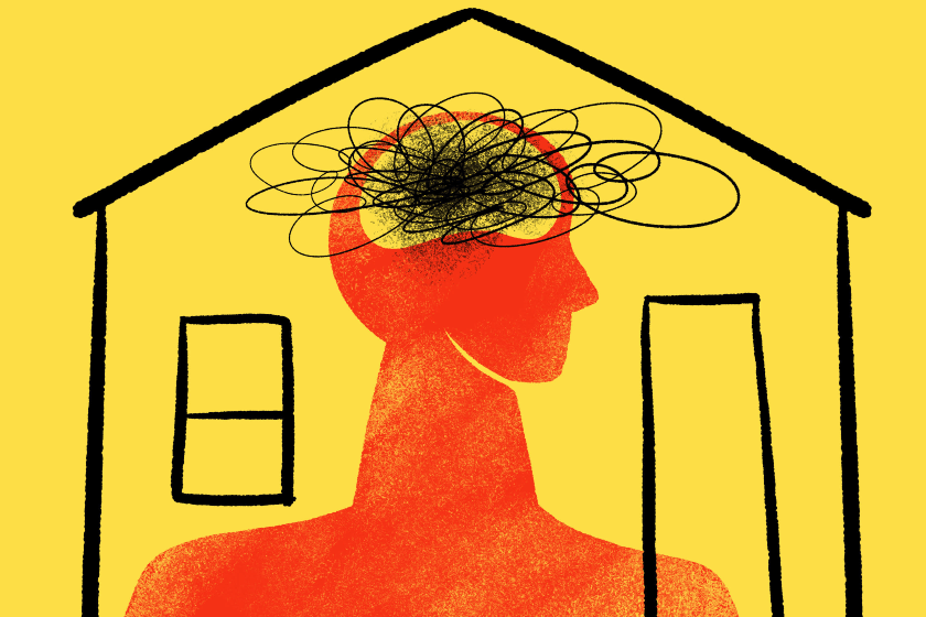 confinamiento casa, crisis mental