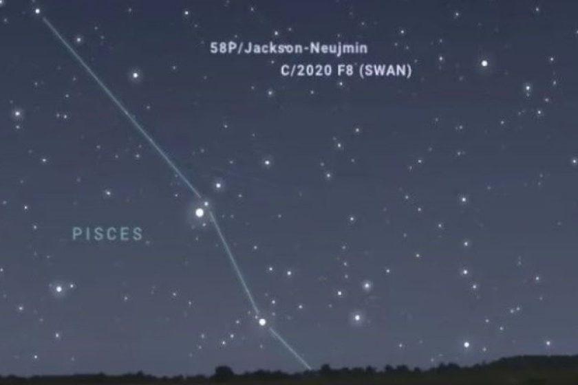 Cometa SWAN 2020 pasa cerca de la Tierra