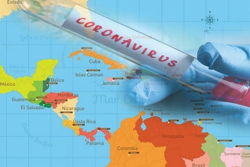contagios de coronavirus en América Latina