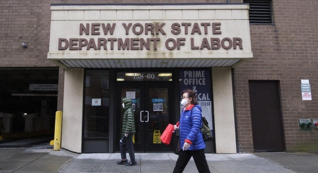 Desempleo en Estados Unidos por coronavirus
