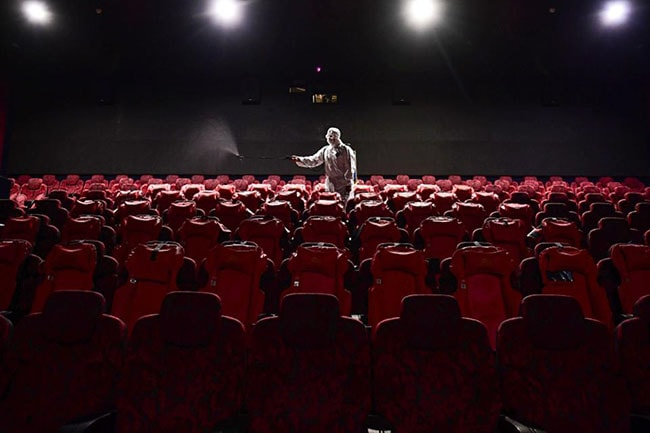 cierre de teatros por pandemia