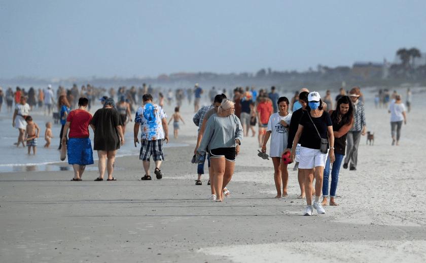 playas Florida, Covid-19