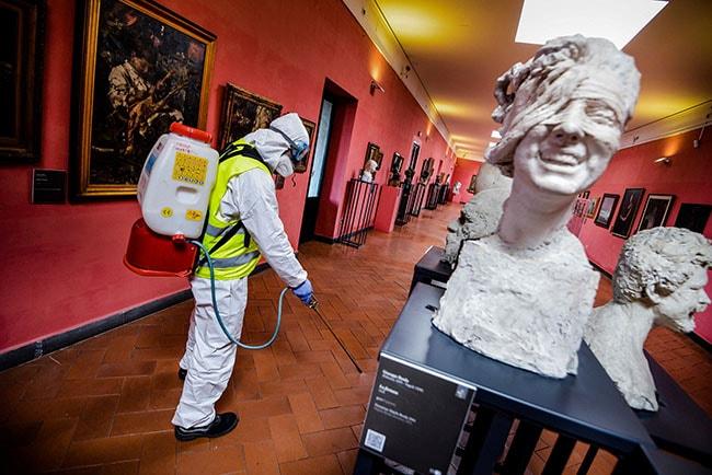 museos frente a la pandemia