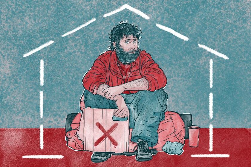 vagabundo, sin casa, desempleo