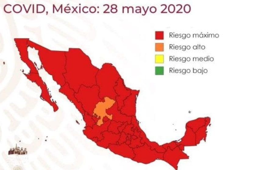 Semáforo covid México