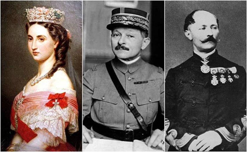 Carlota de México, Alfred van der Smisse, y Maxime Weygand
