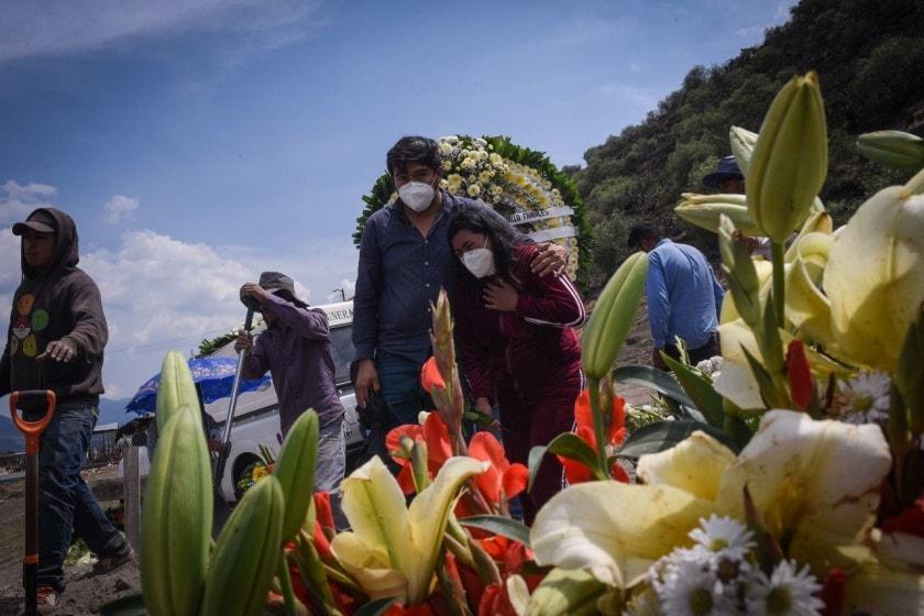 Muertos por covid-19 en México